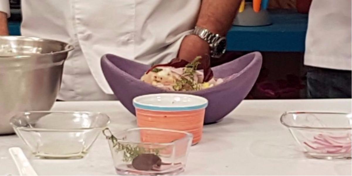 En la receta de Leo un exquisito ceviche hecho por el chef Mark Rausch - Foto: Digital Canal 1.