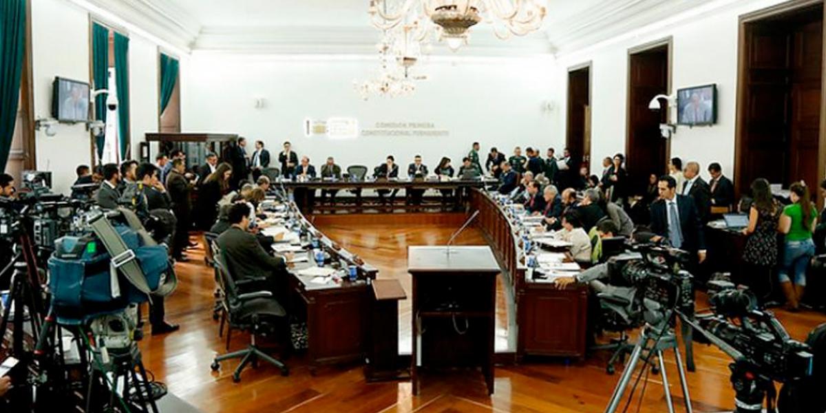 Aprobada en primer debate convocatoria de una constituyente para la justicia