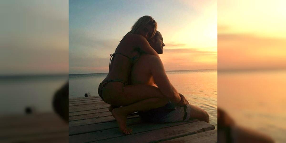 Así fue el romántico fin de semana que vivieron Cristina Hurtado y Josse Narváez