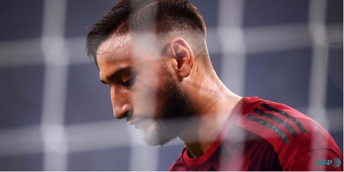Donnarumma denuncia presiones por parte del Milan - MARCO BERTORELLO / AFP