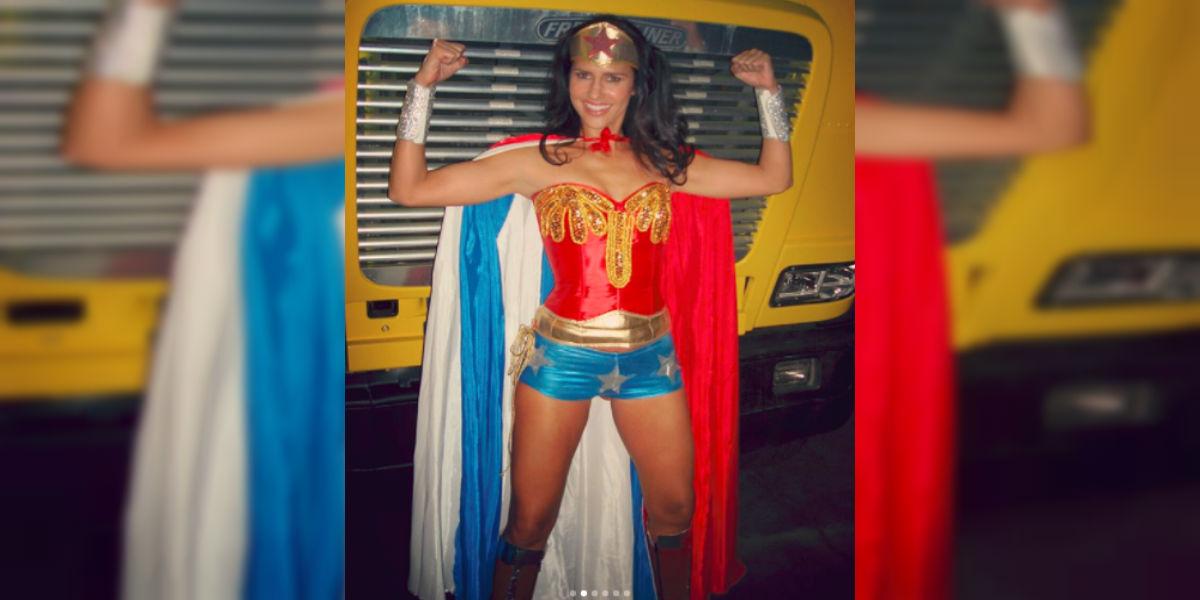 La fascinación de Paola Turbay por la 'Mujer Maravilla'