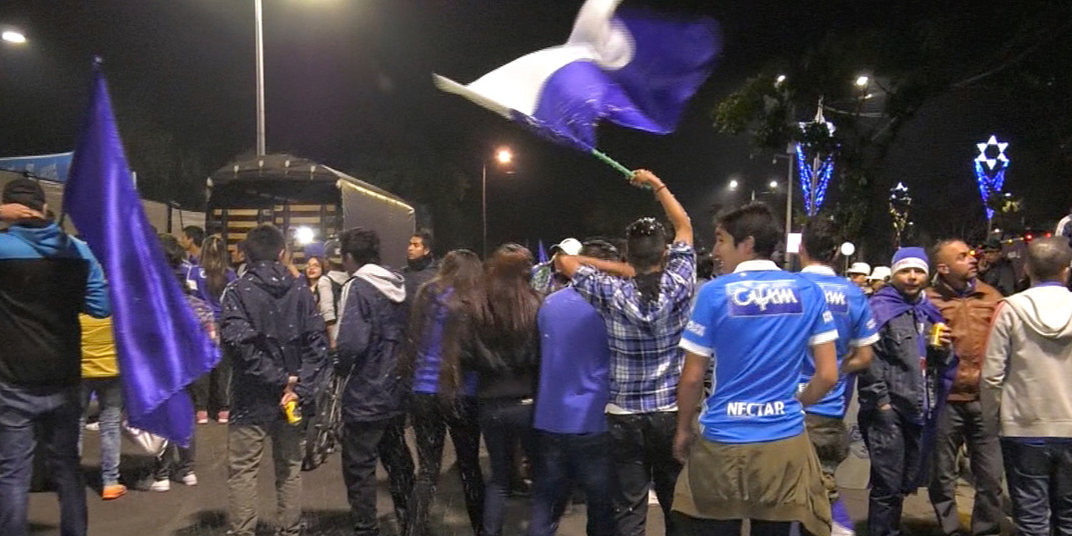 32 riñas y al menos 2 heridos en celebración de título de Millonarios: Policía