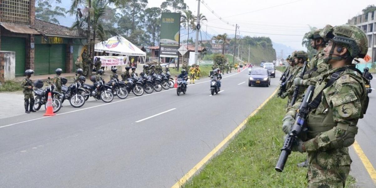 121.000 soldados y policías garantizarán seguridad de 15 rutas turísticas