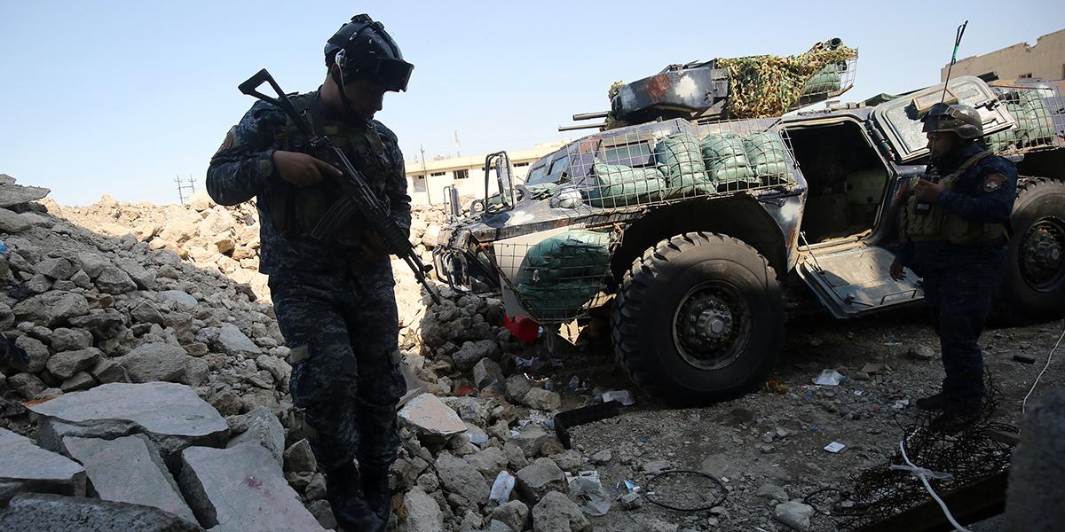 Policía iraquí da de baja a 15 terroristas en zona fronteriza entre Irak y Siria