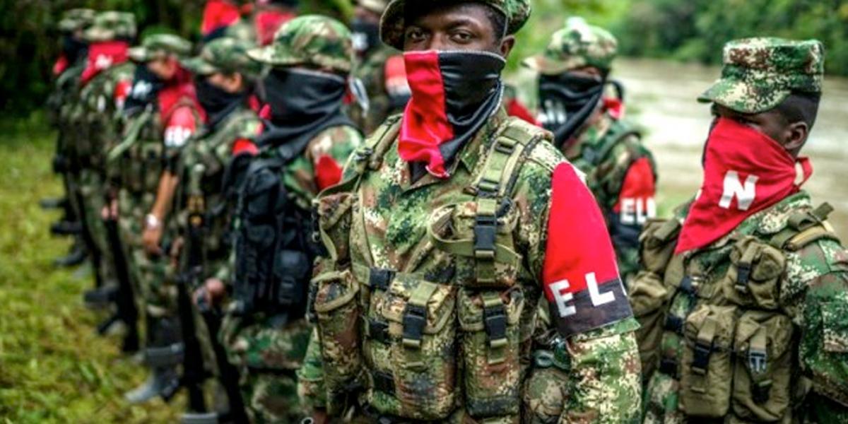 Ordenan captura contra integrantes del ELN por reclutamiento de 97 menores