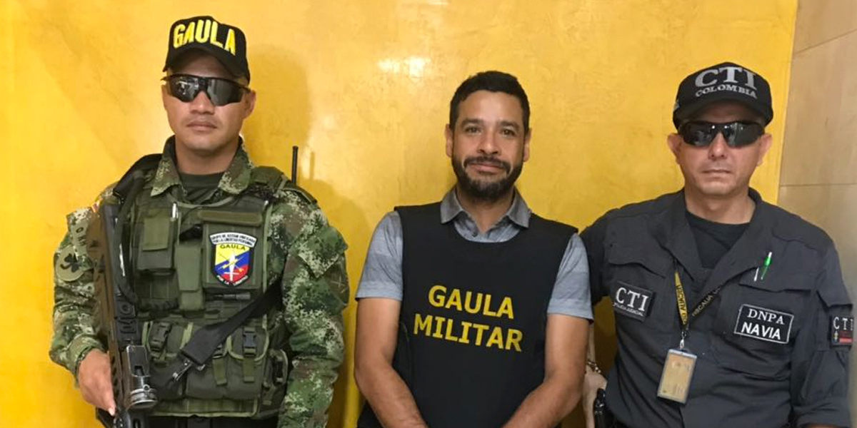 Cae el principal encargado de enviar droga a Centroamérica en Cali