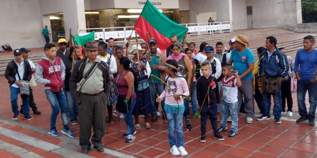 Indígenas esperan ser reconocidos como parte de Cali