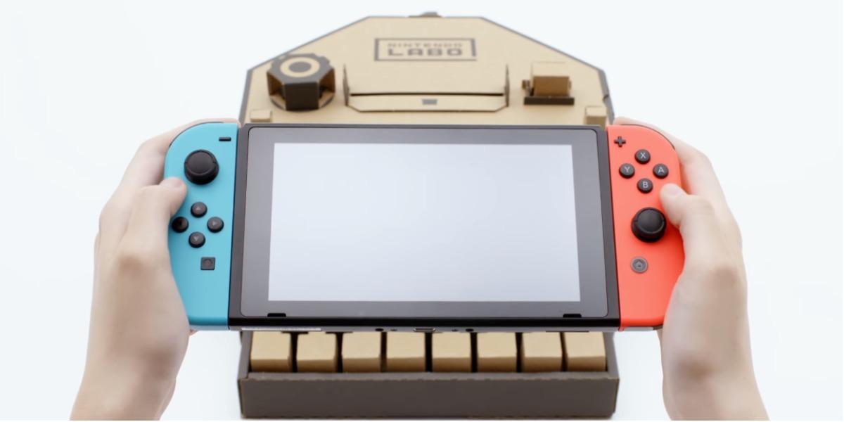Este es el Nintendo Labo - foto: captura de pantalla.