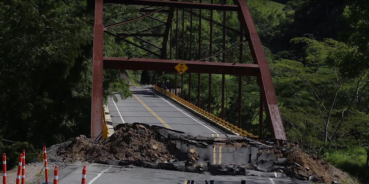 Más de $10 mil millones invertidos en un puente de Boyacá, se habrían perdido por colapso de la obra