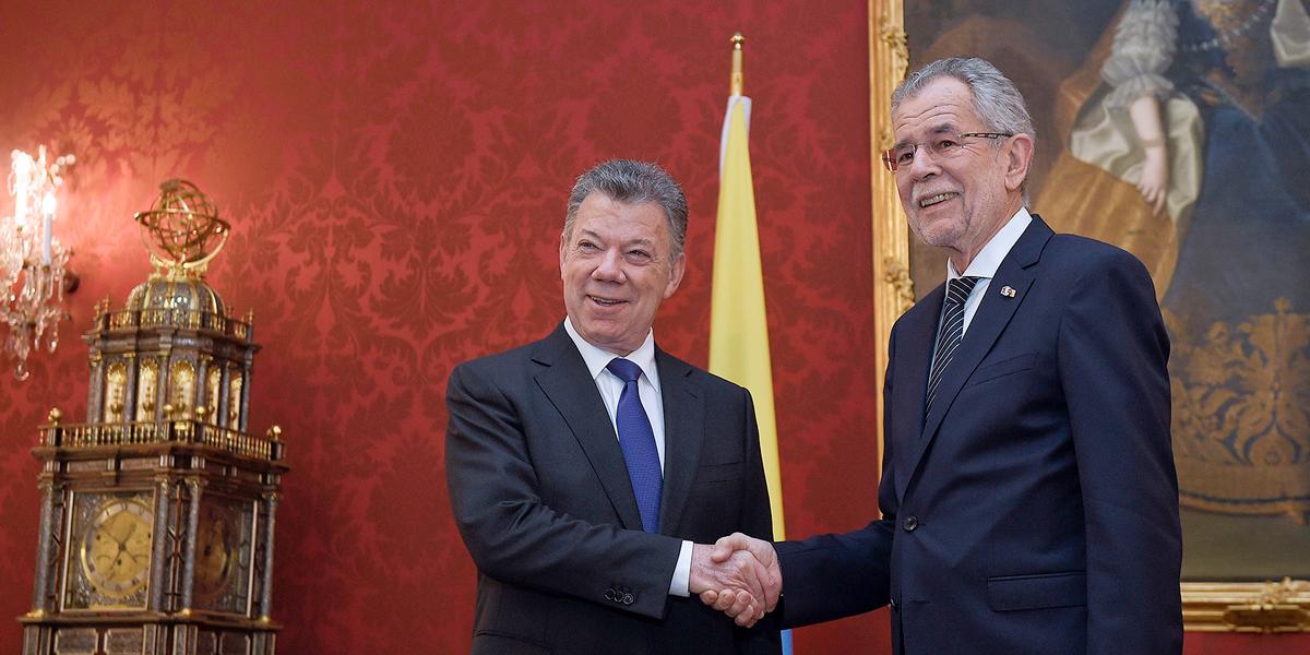 'Proceso de paz en Colombia es 'irreversible' gane quien gane': Santos