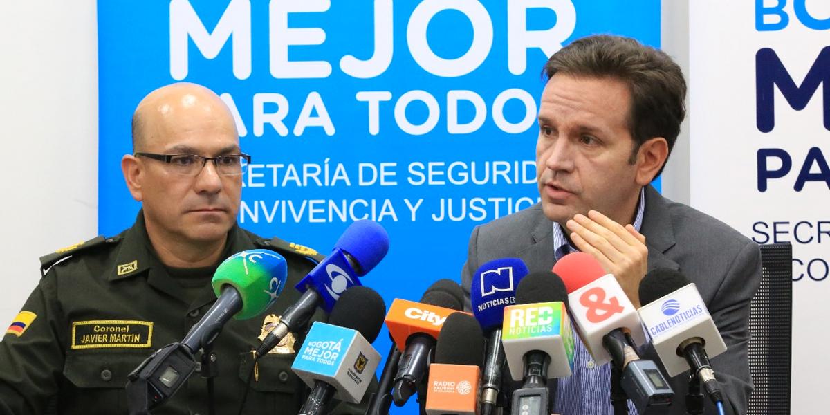 En 2017 los homicidios se redujeron en 12 % en Bogotá