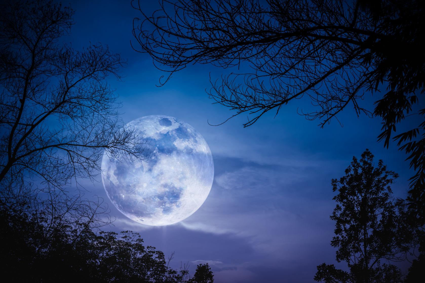 superluna noche - 123rf