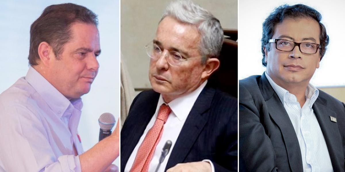 Uribe, Petro y Vargas Lleras a declarar en caso de corrupción