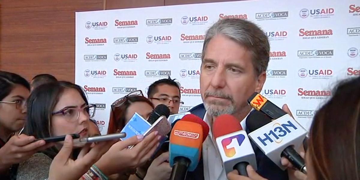 Embajador de EUA en Colombia ratifica su compromiso en la lucha contra el narcotráfico