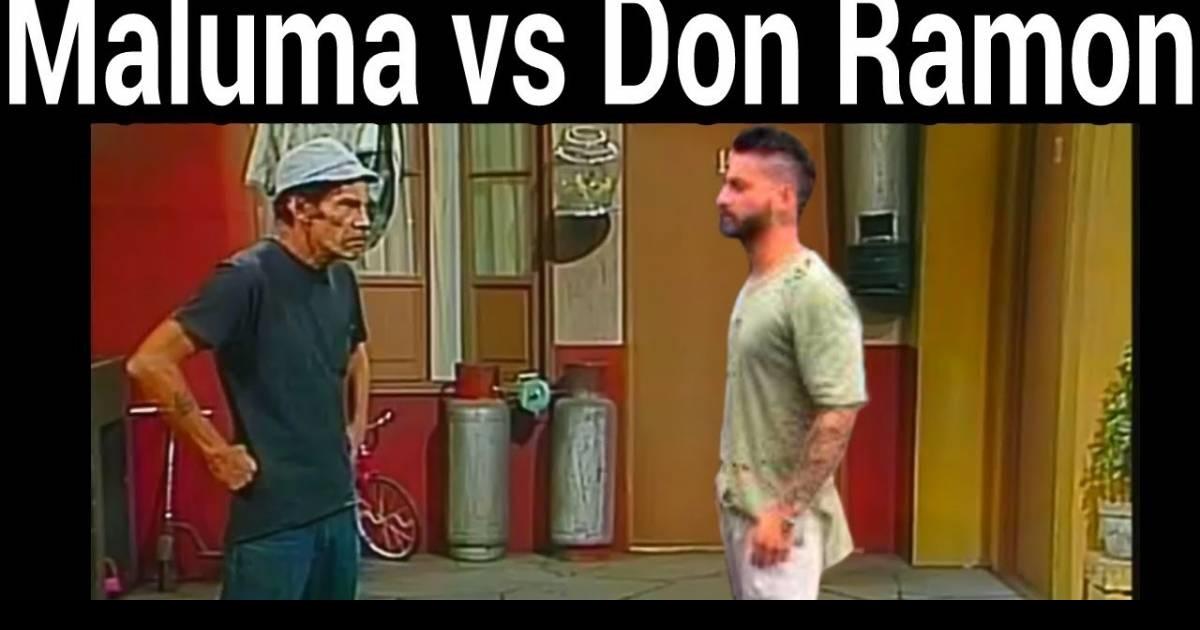 Así reaccionaría Don Ramón al oír a Maluma cantando