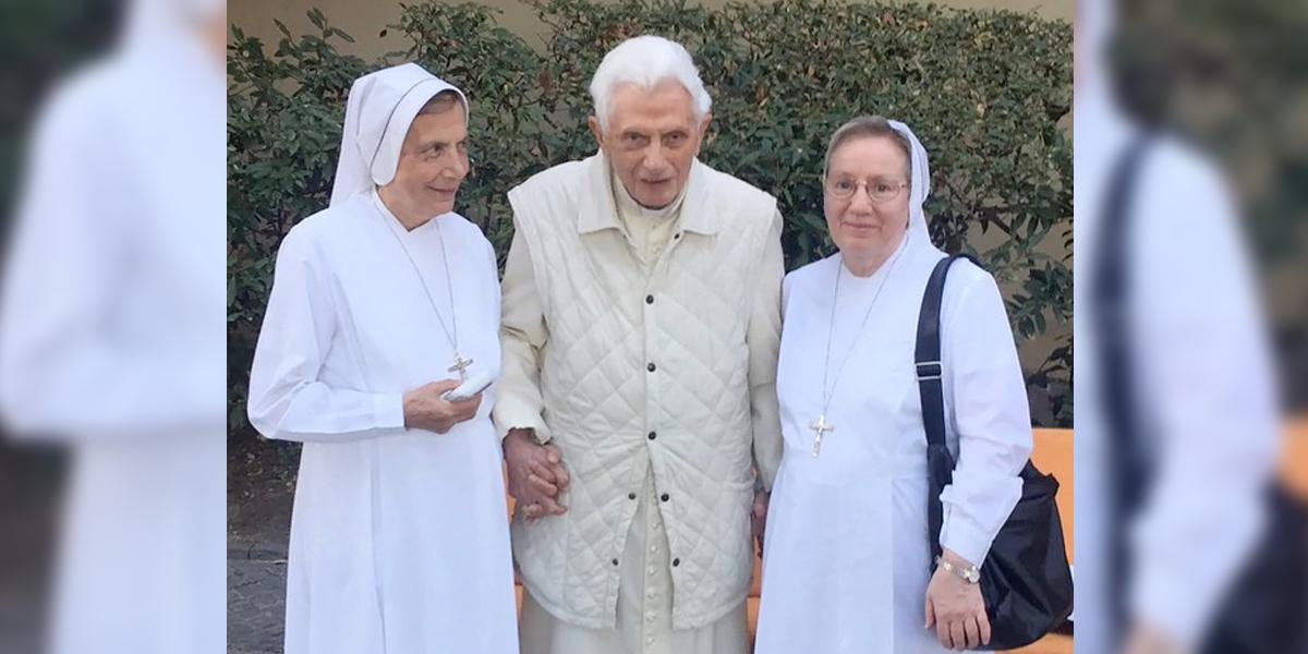 'Estoy en peregrinación hacia la casa del señor': Benedicto XVI