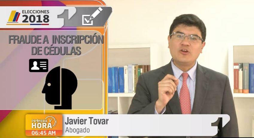 delito electoral elecciones fraude a inscripcion de cedulas
