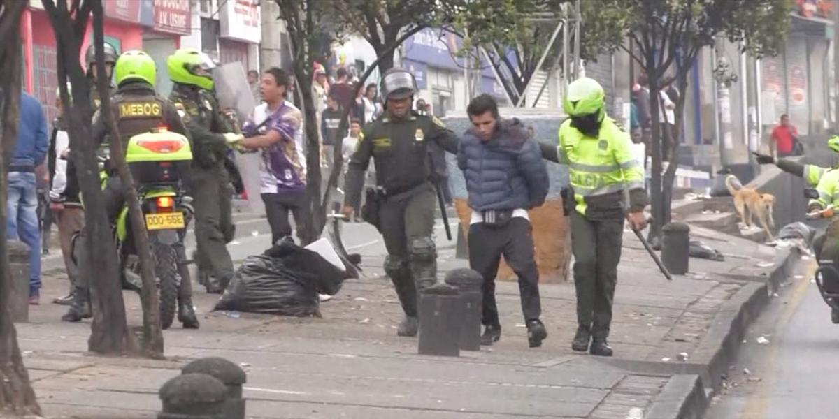 Alrededor de 30 capturas por desmanes y saqueos a supermercados en Bogotá