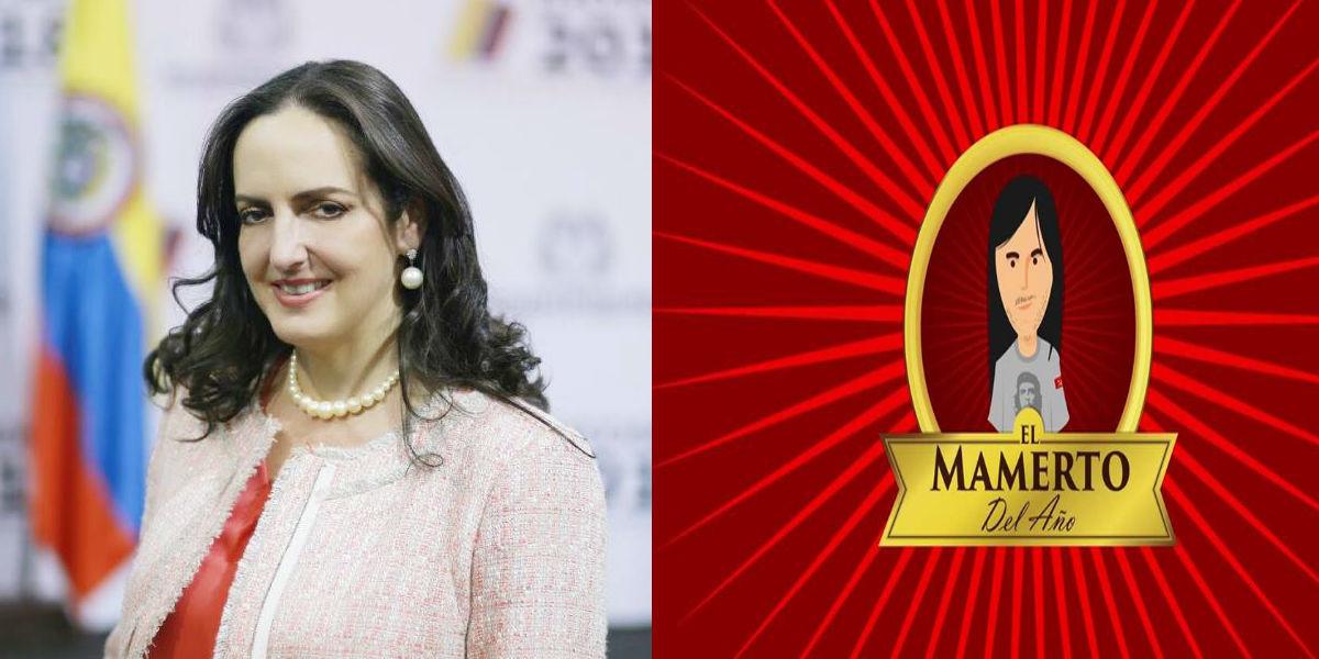 """María Fernanda Cabal premiará al """"mamerto del año"""""""