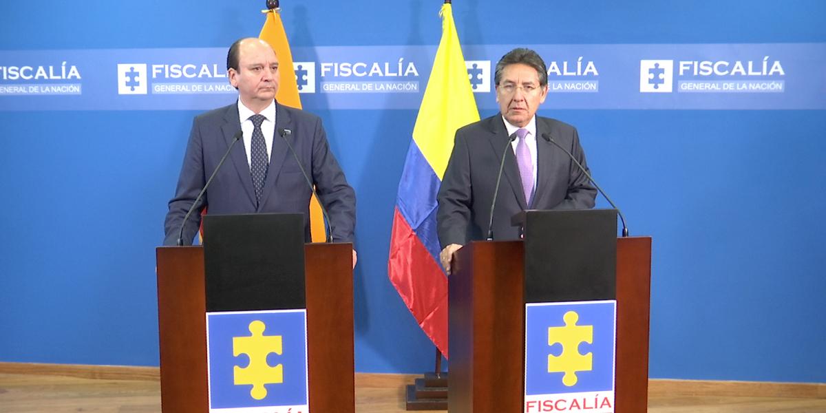 Fiscales de Ecuador y Colombia intercambiaron información sobre las Farc