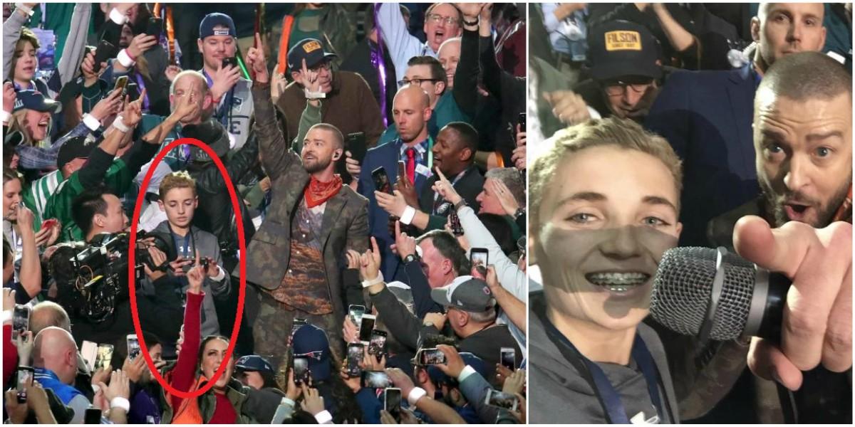 El 'Selfie kid' y Justin Timberlake se roban el show en el SuperBowl