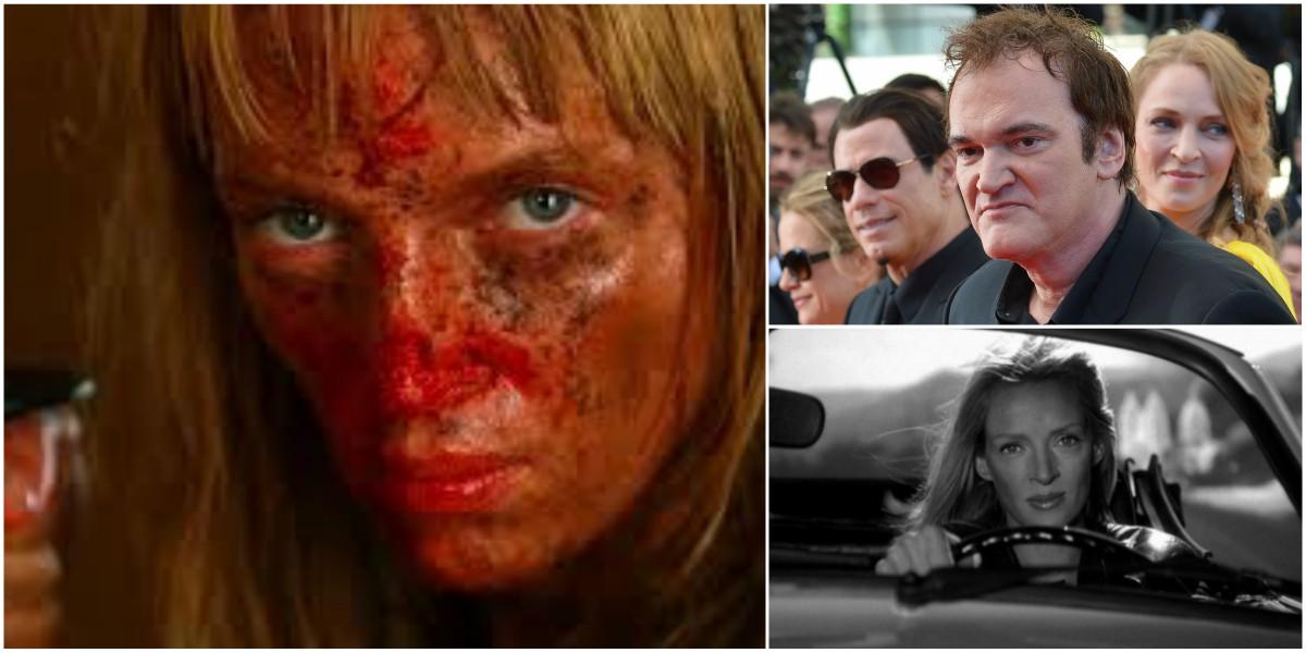 Quentin Tarantino habla sobre el accidente que casi le cuesta la vida a Uma Thurman