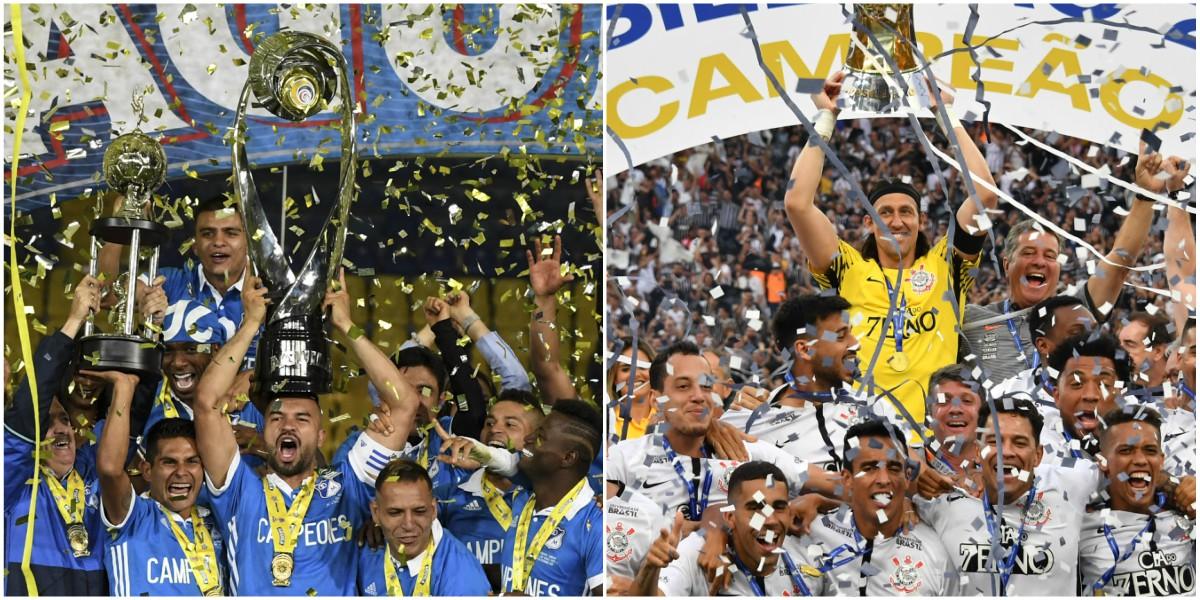 Millonarios se enfrenta a Corinthians en un gran duelo de campeones