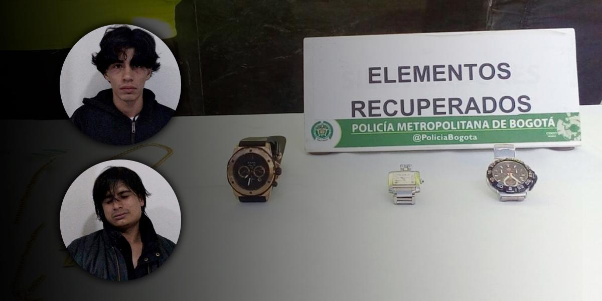 A prisión 'Los Rolex', banda que se dedicaba al hurto de relojes de alta gama