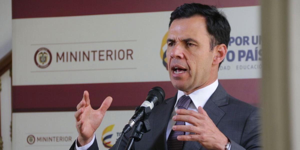 Ministro del Interior habló de la investigación por los hechos de Cúcuta contra Petro