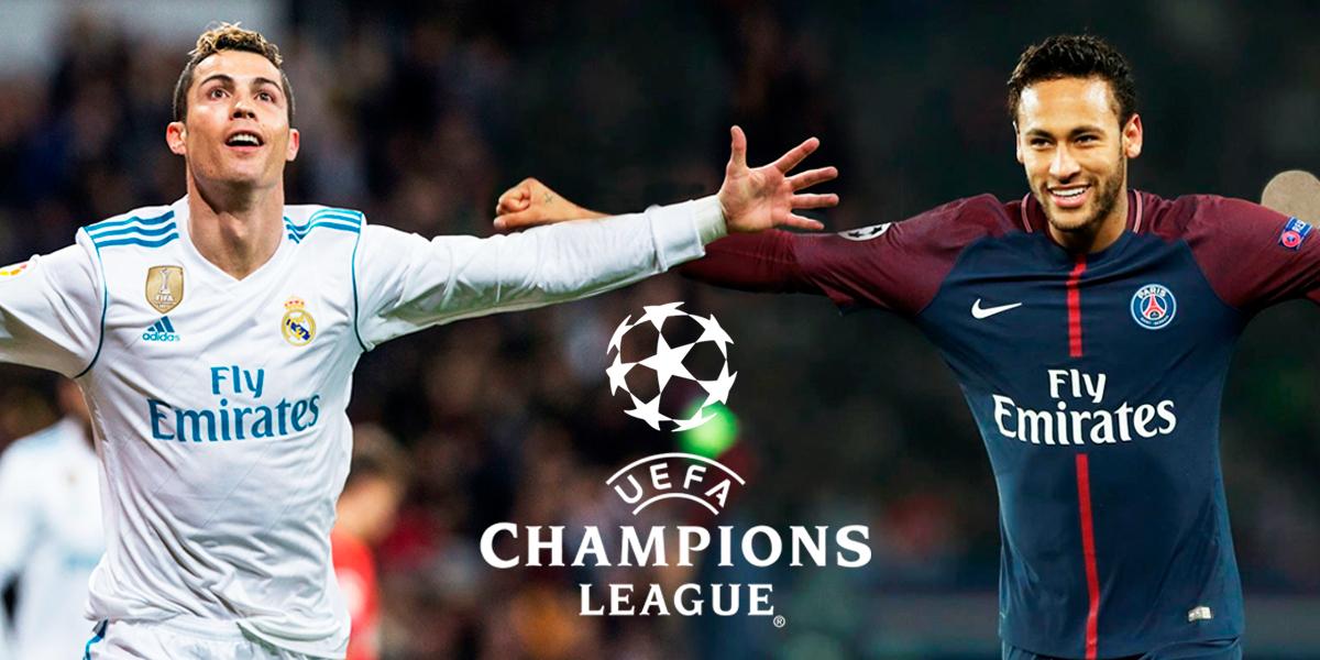 Real Madrid y PSG el duelo de gigantes en la Champions