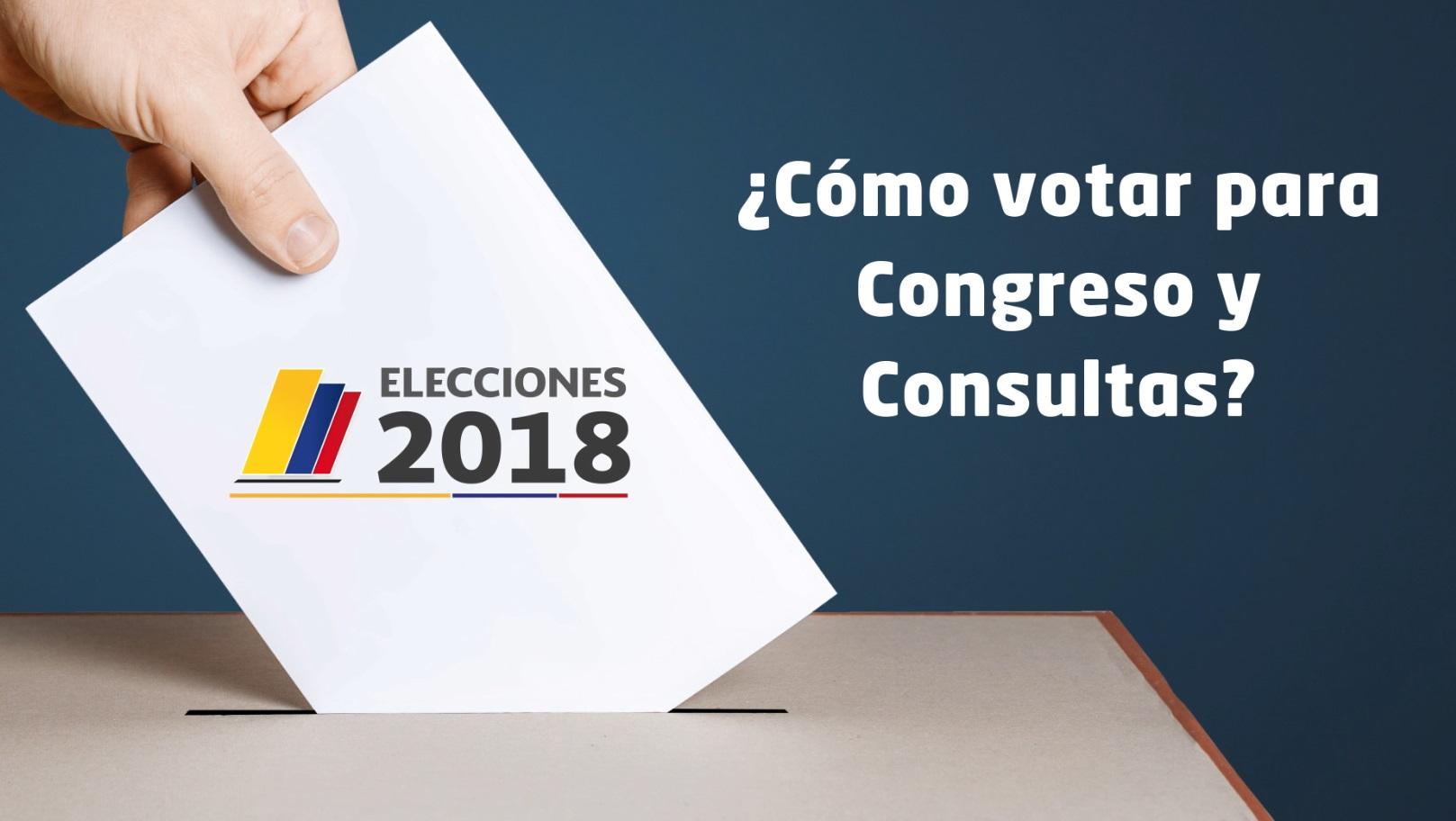 Todo lo que debe saber para las elecciones de Congreso y consultas