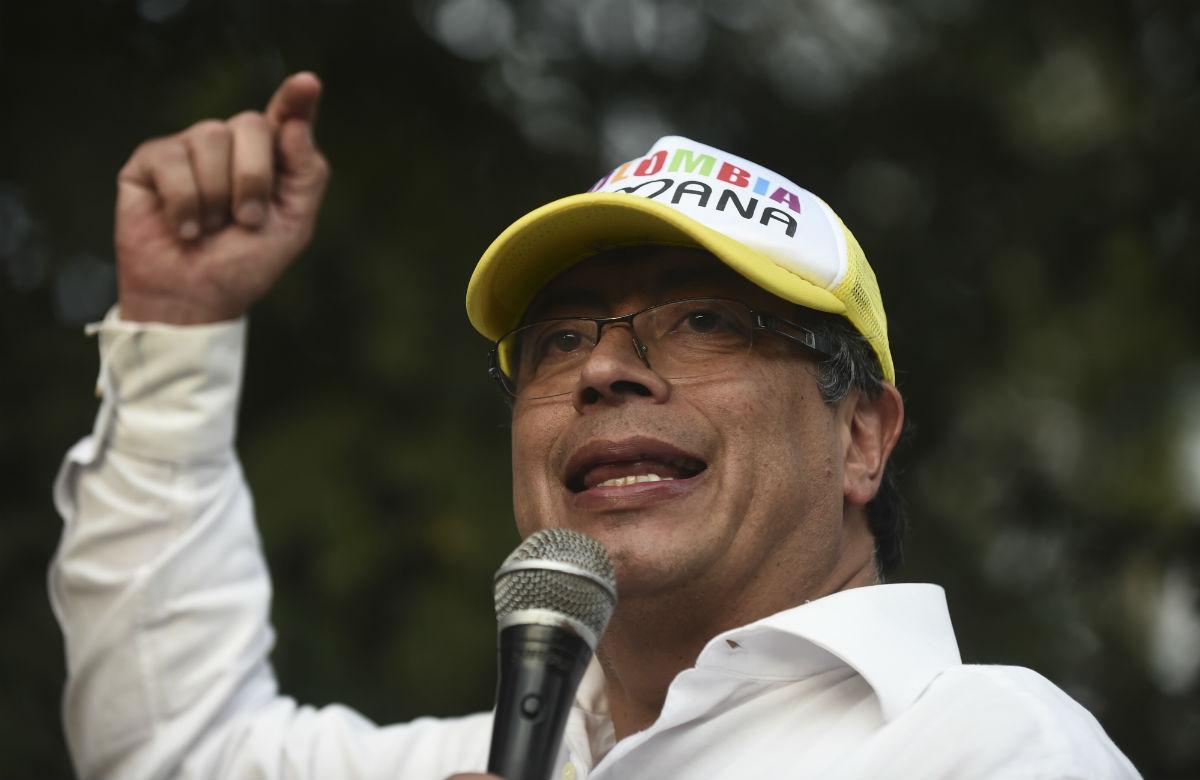 Gustavo Petro Colombia Humana candidato presidencial