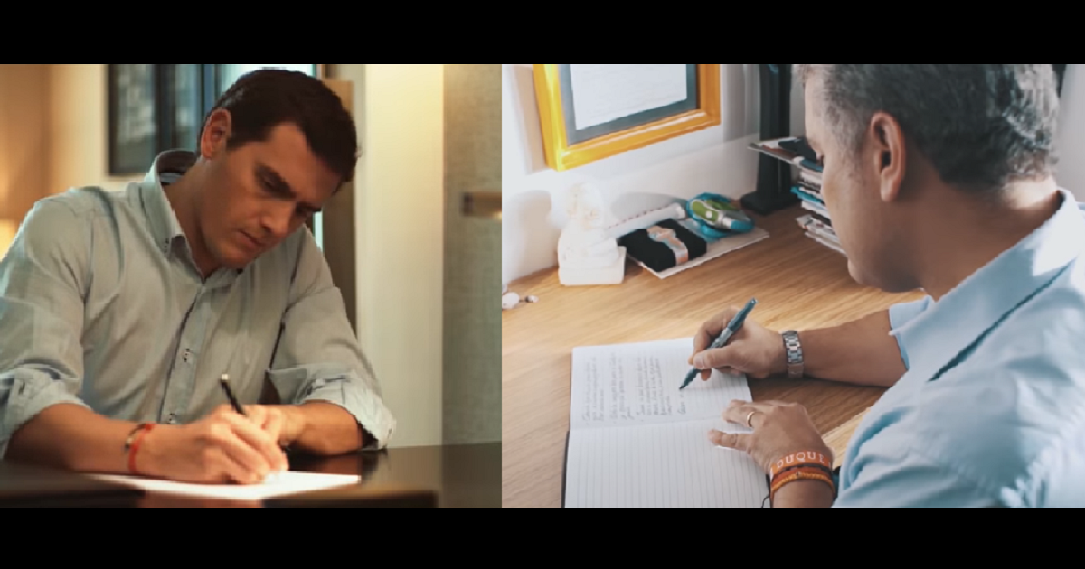 Acusan de plagio a Iván Duque por carta a su hija, similar a la de político en España