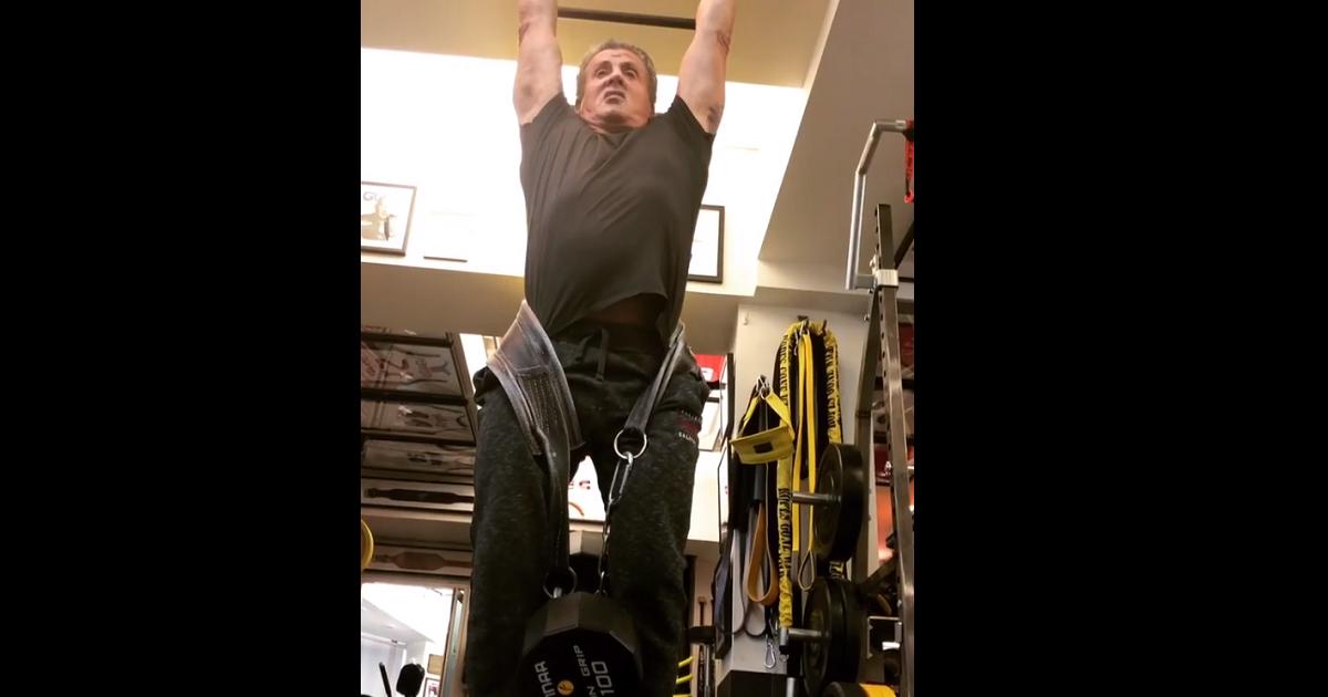 ¡Rocky vive! El impresionante entrenamiento de Sylvester Stallone a los 71 años