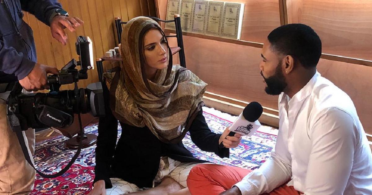 Los retos que asume el actor musulmán Carrell Lasso en escenas de desnudos