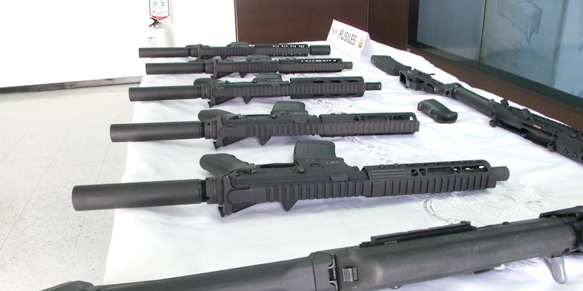 Incautan arsenal de armas al grupo de alias Guacho en Nariño