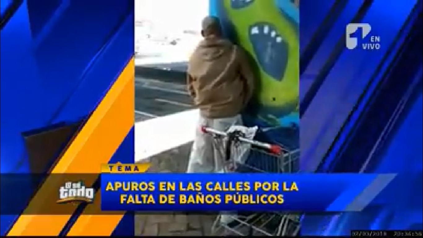 Carencia de baños públicos en varias ciudades de Colombia