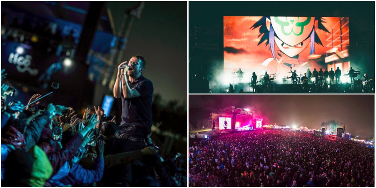 Gorillaz ofreció un show épico en el Estéreo Picnic 2018