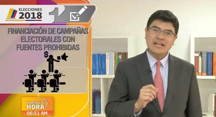 financiaciones de campañas politicas con dineros ilicitos elecciones congreso primera hora