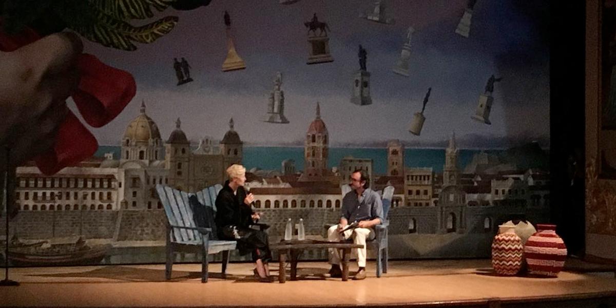 FICCI rinde tributo a la actriz Tilda Swinton
