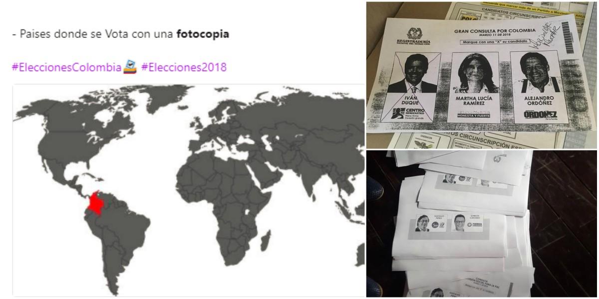Indignación y burlas por uso de fotocopias en las elecciones