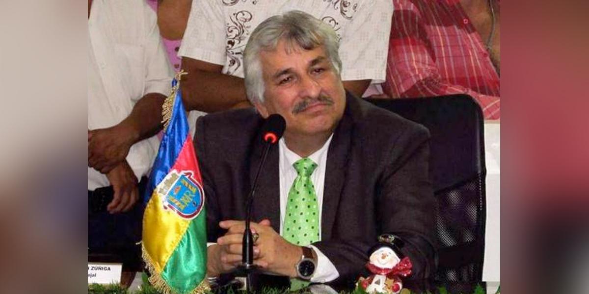 Formulan cargos contra concejal de Santander, Hipólito Durán Zúñiga