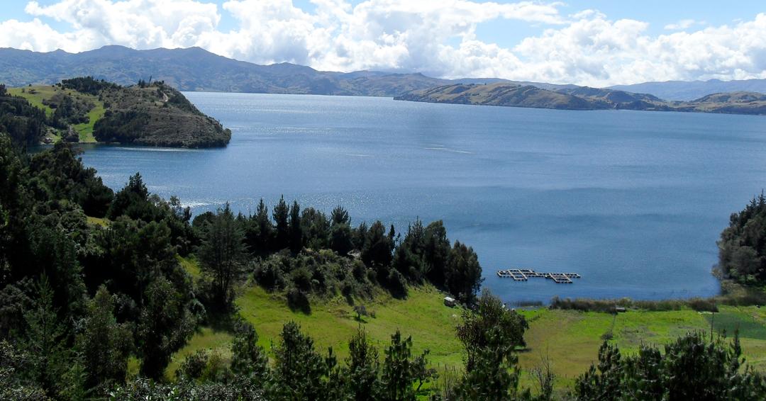 El Lago de Tota es el tercer destino verde más atractivo de las Américas