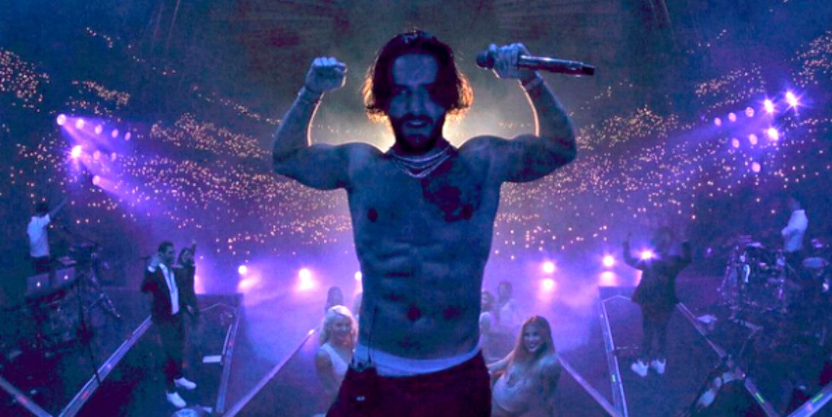 Maluma hizo historia en el Madison Square Garden de Nueva York