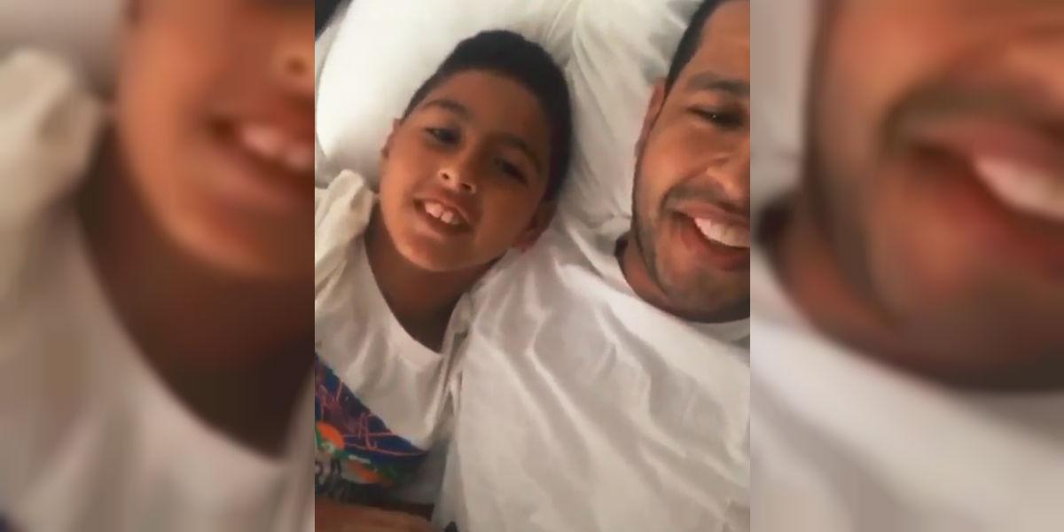 Martín Elías Jr. publica el último vídeo que grabó con su padre