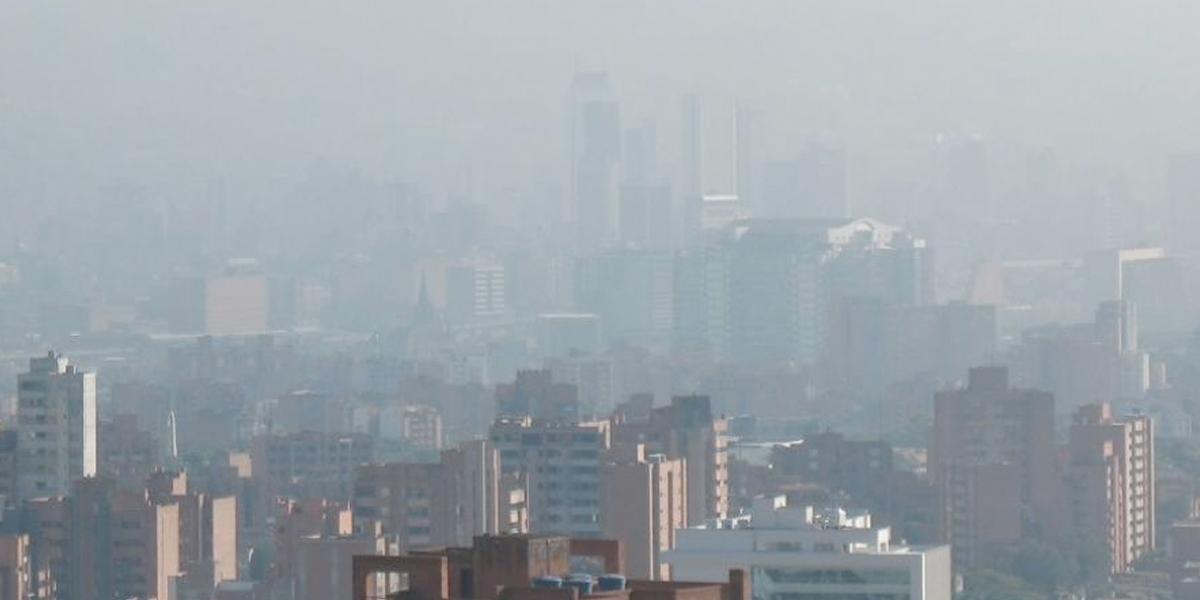 Medellín alcanzó estado de alerta por mala calidad del aire