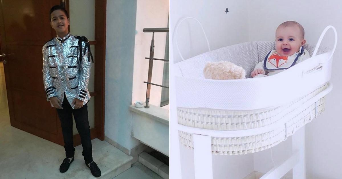 Estos son los hijos de los famosos colombianos con más seguidores en Instagram