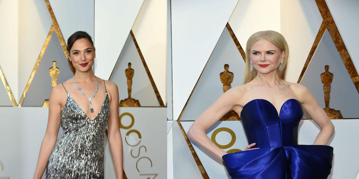 Estos fueron los famosos mejor y peor vestidos en los Premios Óscar