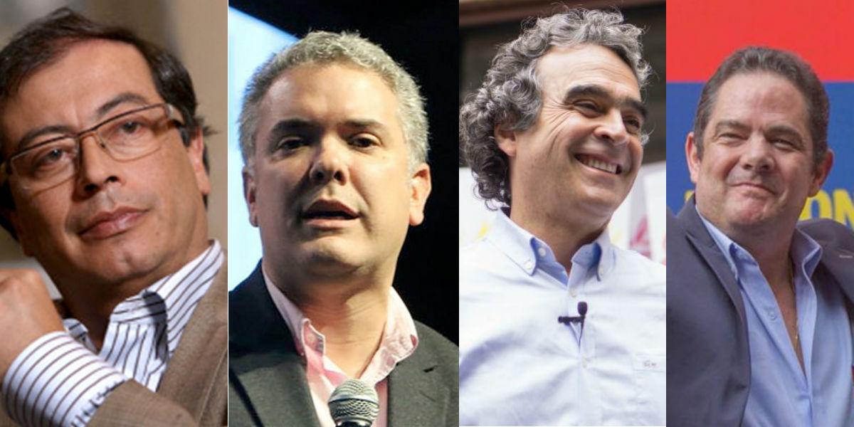 petro duque fajardo vargas lleras candidatos presidenciales encuesta universidades