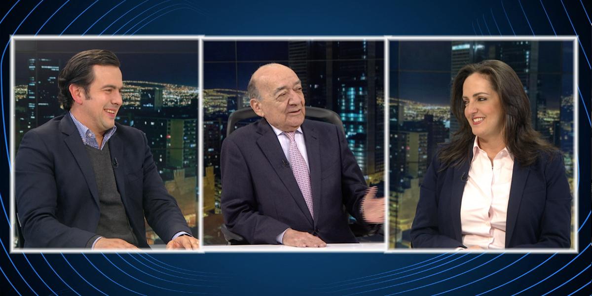 María Fernanda Cabal y Rodrigo Lara debaten sobre posibles resultados de elecciones al Congreso